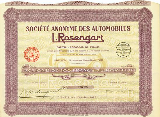 S.A. des Automobiles L. Rosengart