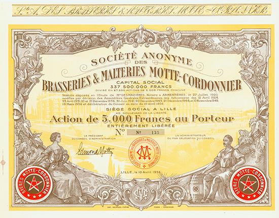 S.A. des Brasseries & Malteries Motte-Cordonnier