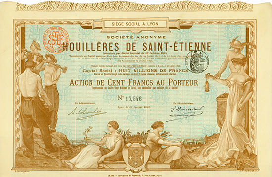 S.A. des Houilleres de Saint-Etienne