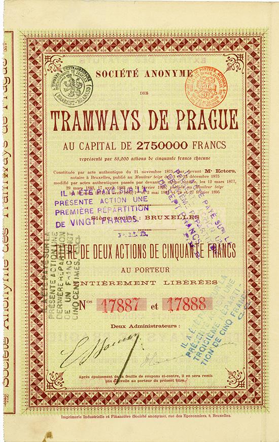 S.A. des Tramways de Prague