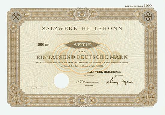 Salzwerk Heilbronn