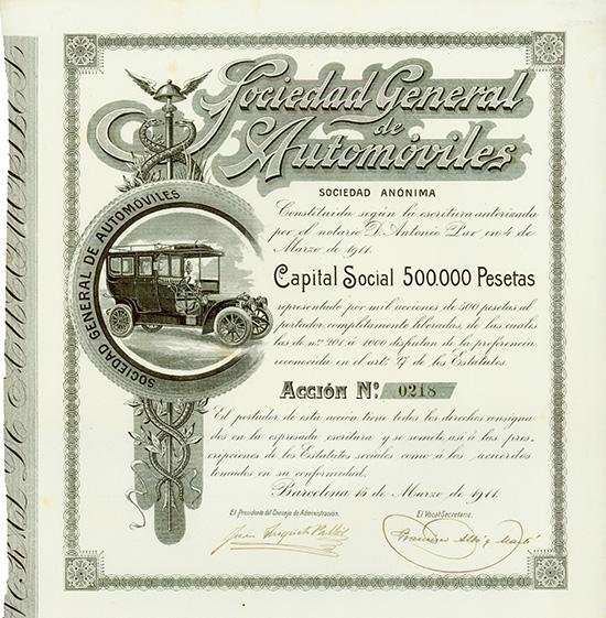 Sociedad General de Automoviles S.A.