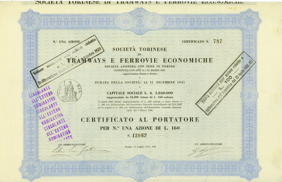 Societa Torinese di Tramways e Ferrovie Economiche