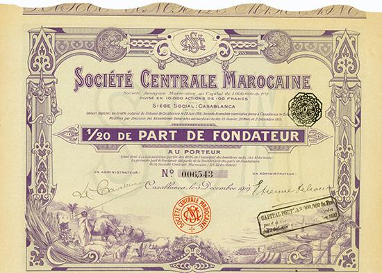 Societe Centrale Marocaine