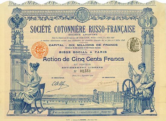 Societe Contonniere Russo-Francaise S.A.
