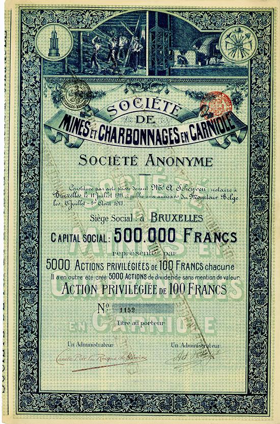 Societe de Mines et Charbonnages en Carniole