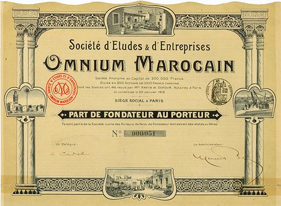 Societe d'Etudes & d'Entreprises Omnium Marocain
