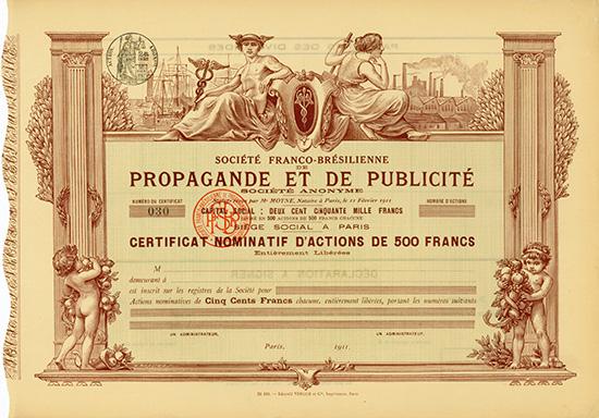 Societe Franco-Bresilienne de Propagande et de Publicite