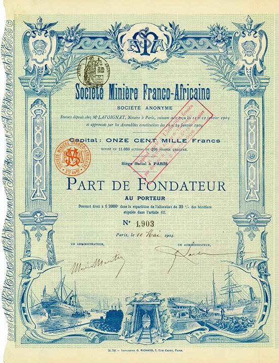 Societe Miniere Franco-Africaine