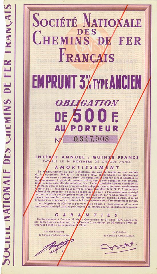 Societe Nationale des Chemins de Fer Francais