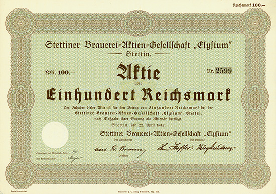 Stettiner Brauerei-Aktien-Gesellschaft