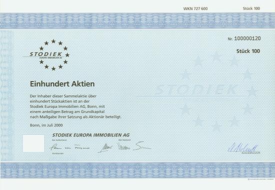 Stodiek Europa Immobilien AG