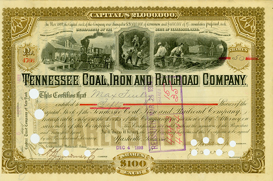 Tennessee Coal, Iron and Railroad Company