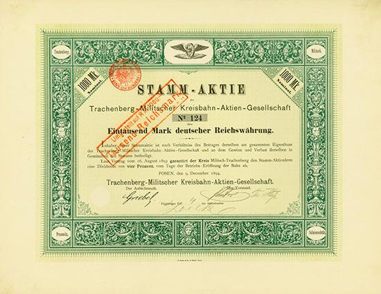 Trachenberg-Militscher Kreisbahn-AG
