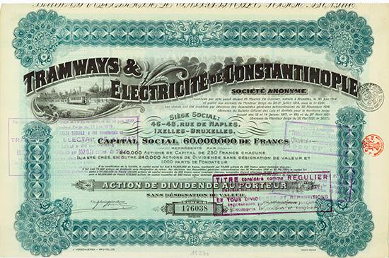 Tramways & Electricite de Constantinople S.A.