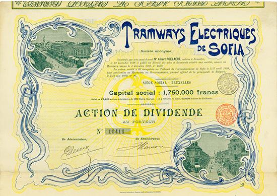 Tramways Electriques de Sofia