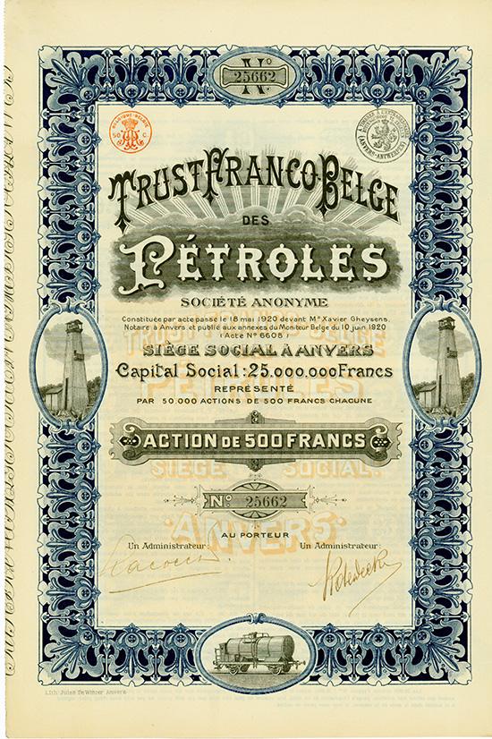 Trust Franco Belge des Petroles S.A.