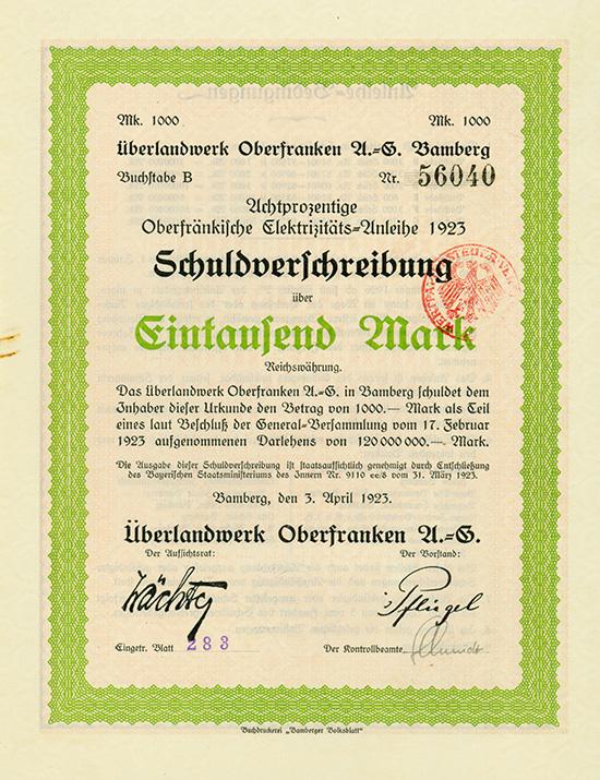 Überlandwerk Oberfranken AG
