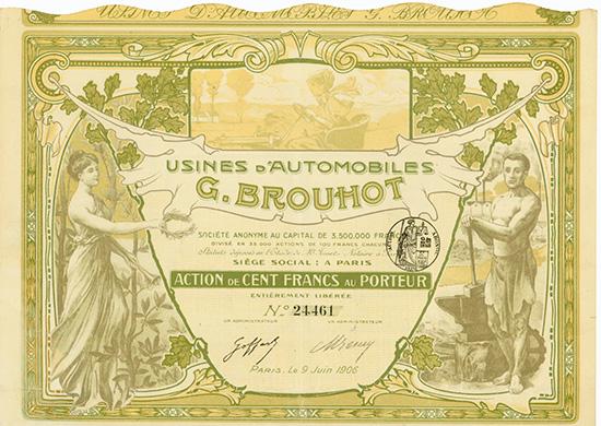 Usines d'Automobiles G. Brouhot S.A.