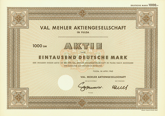 Val. Mehler AG