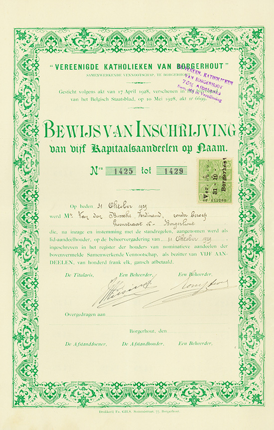 Vereenigde Katholieken van Borgerhout S.V.