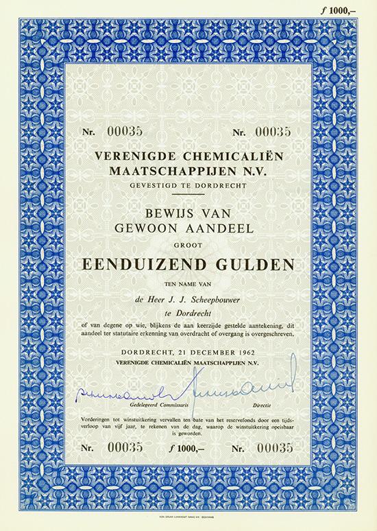 Verenigde Chemicalien Maatschappijen N.V.