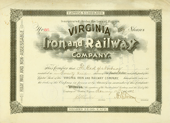 Virginia Iron and Railway Company