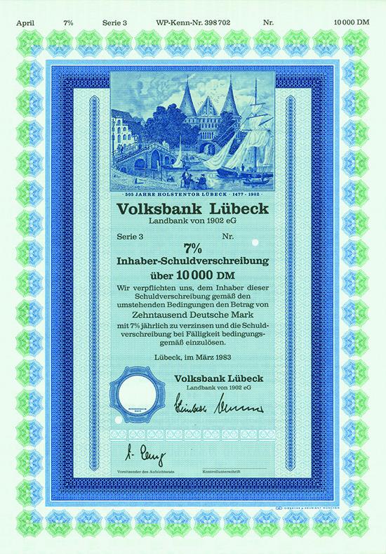 Volksbank Lübeck Landbank von 1902 eG