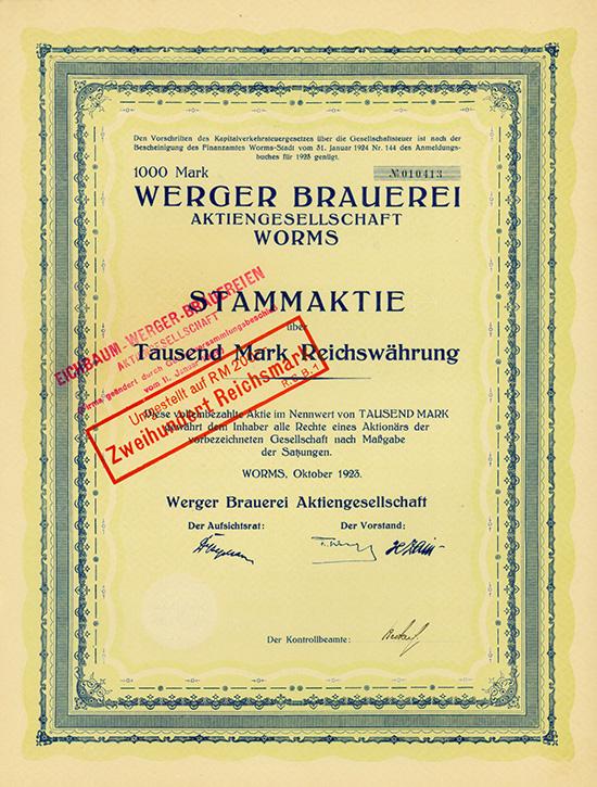 Werger Brauerei AG