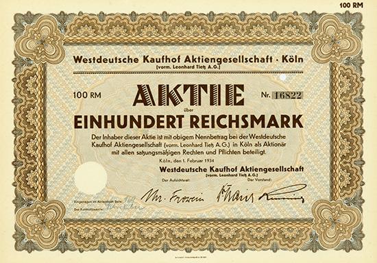 Westdeutsche Kaufhof AG