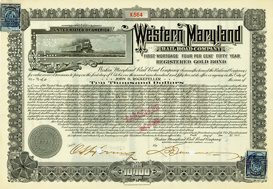 Western Maryland Rail Road Company