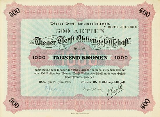 Wiener Werft AG