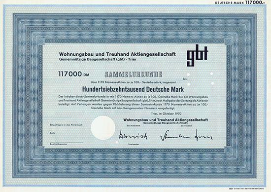 Wohnungsbau und Treuhand AG Gemeinnützige Baugesellschaft (gbt)