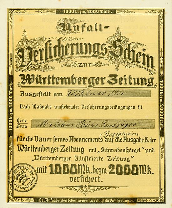 Württemberger Zeitung