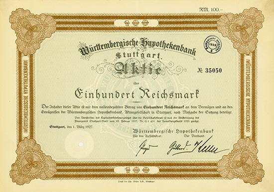 Württembergische Hypothekenbank