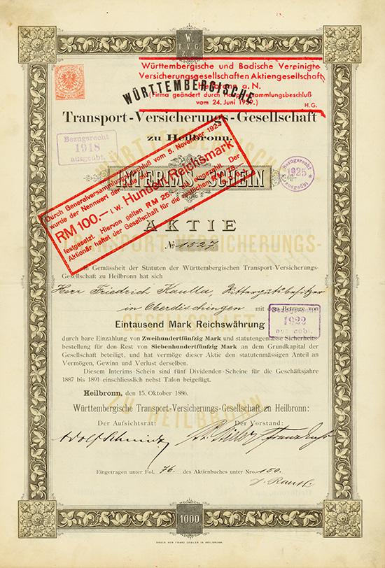 Württembergische Transport-Versicherungs-Gesellschaft