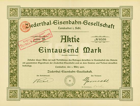 Ziederthal-Eisenbahn-Gesellschaft
