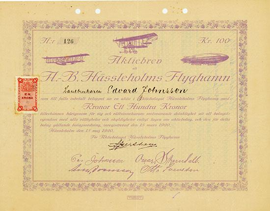 AB Hässleholms Flyghamn