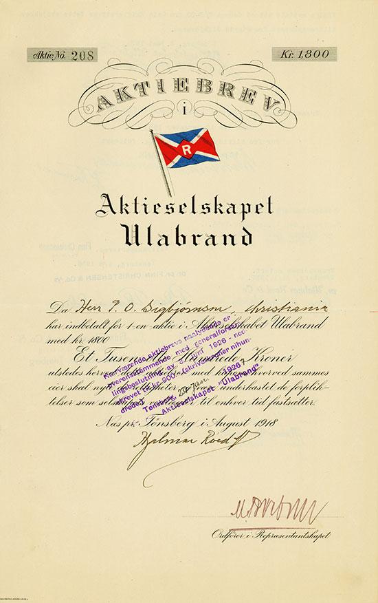 Aktieselskapet Ulabrand