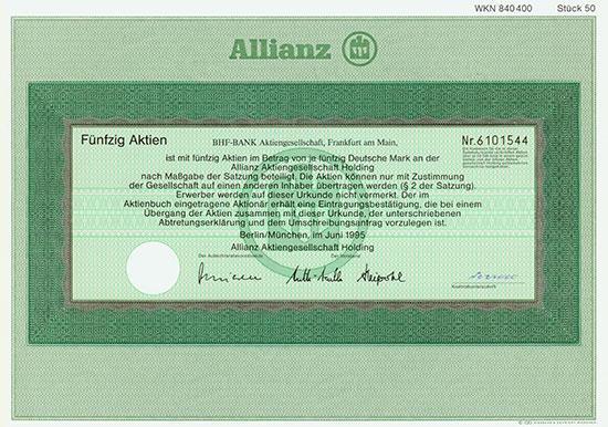 Allianz AG Holding