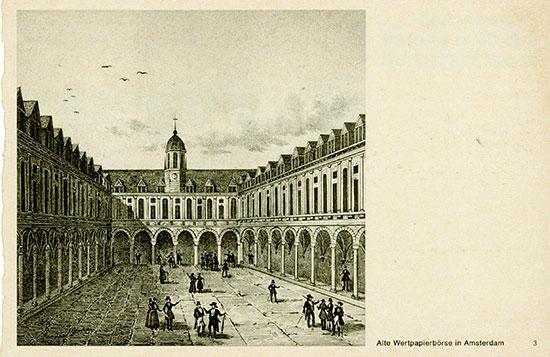 Alte Wertpapierbörse in Amsterdam