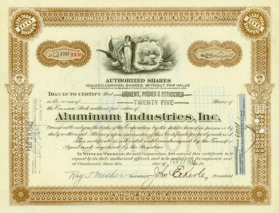 Aluminium Industries, Inc.