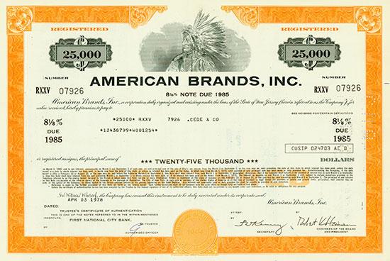 American Brands, Inc.