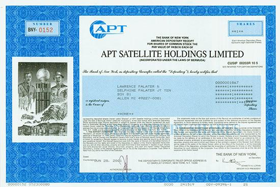 APT Satellite Holdings Limited