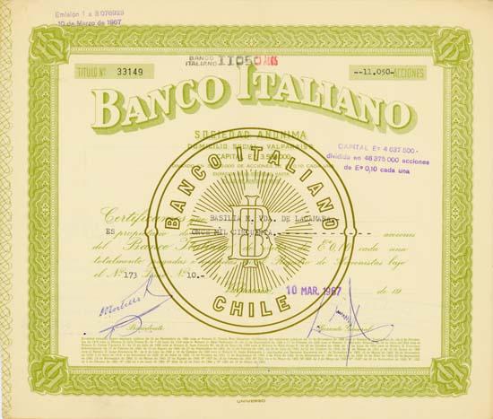 Banco Italiano (Chile)