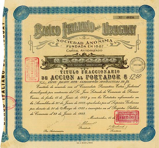 Banco Italiano del Uruguay Sociedad Anónima