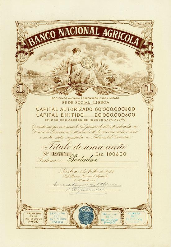 Banco Nacional Agricola