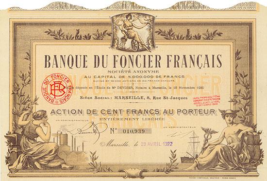 Banque du Foncier Français
