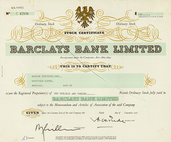 Barclays Bank Limited