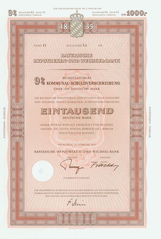 Bayerische Hypotheken- & Wechsel-Bank